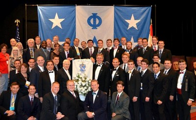 Phi Delta Theta GHQ staff at General Convention in Washington, DC